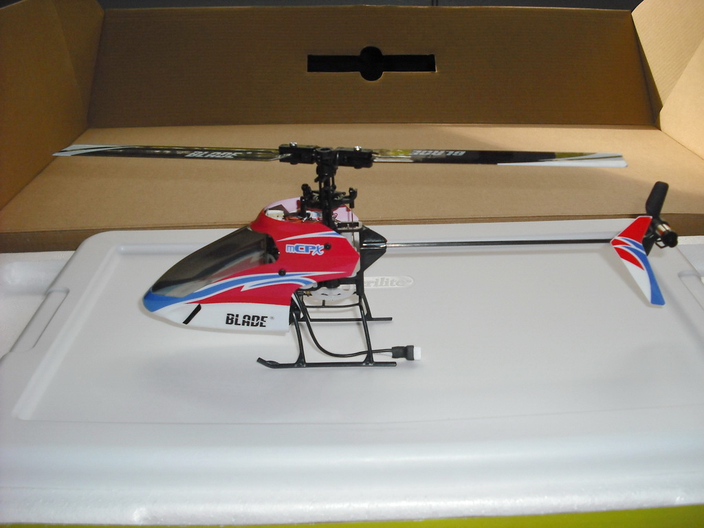 Blade mCPX Helicopter