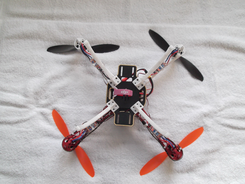 DJI Flamewheel F450 Quadcopter Review – RC Helicopter